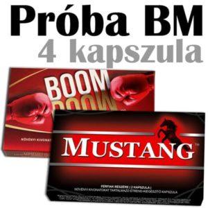 boom boom és mustang potencianövelő
