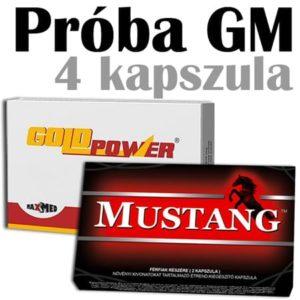 mustang és gold power potencianövelő