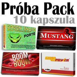 Próba Pack (Green,Mustang,Boom,Gold P.)