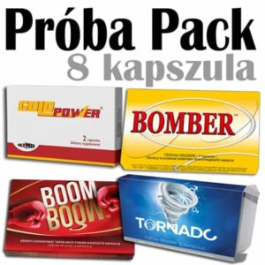 próba pack boom boom gold power bomber tornado