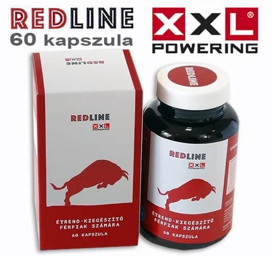 red line by xxl powering kapszula