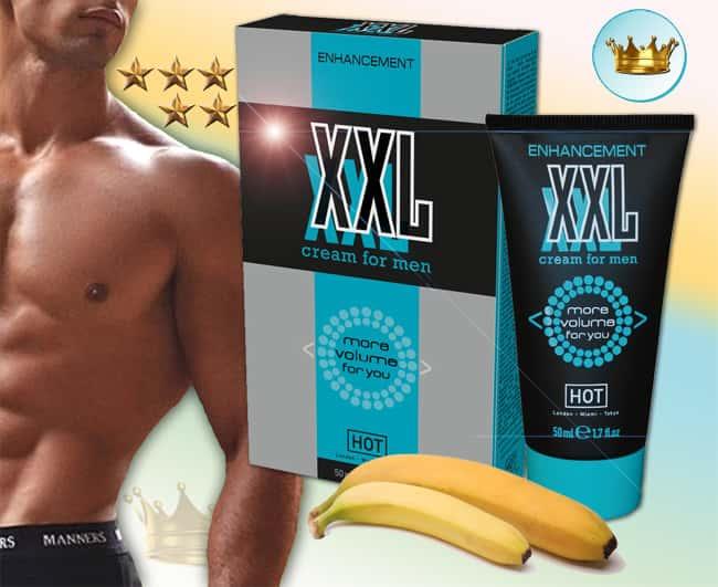 hot xxl volume pénisznövelő krém