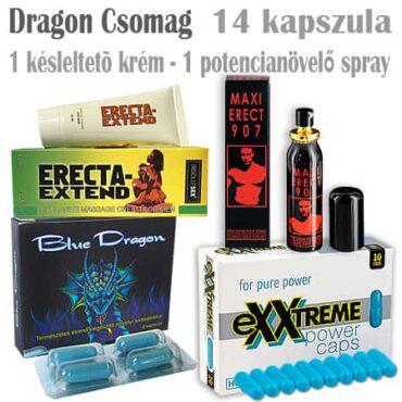 dragon potencianövelő csomag