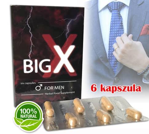 big x potencianövelő