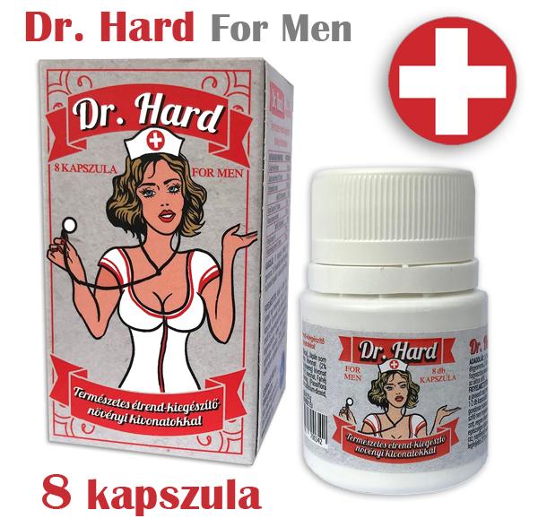 Dr. HARD - 8 kapszulás potencianövelő