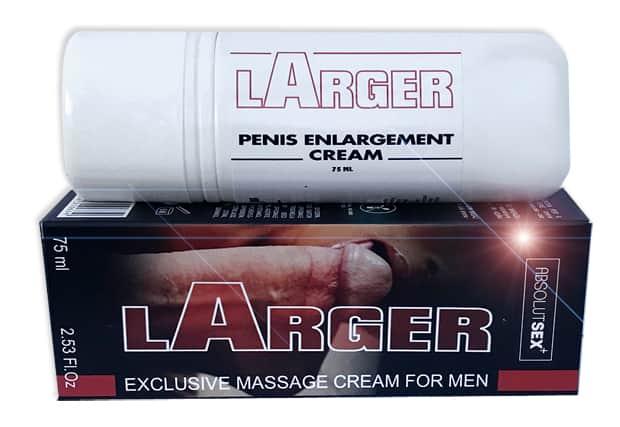 Larger pénisznövelő, potencianövelő és stimuláló krém 75ml
