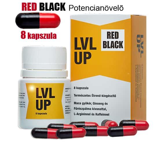 Red Black (Lvl up) potencianövelő