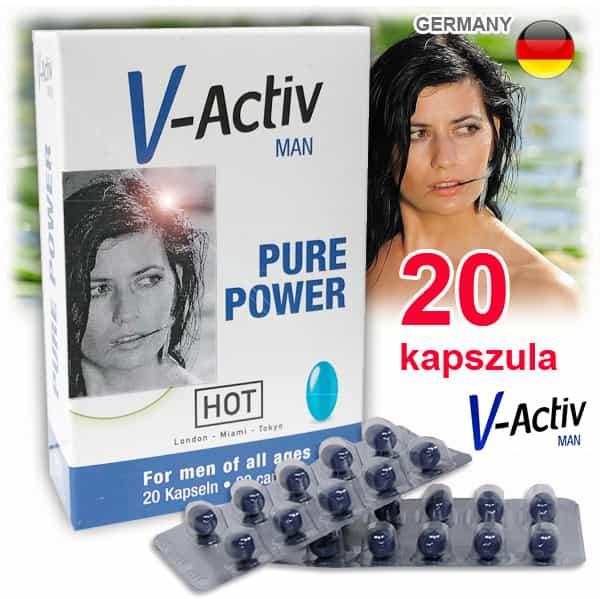 v-actív potencianövelő 20 kapszula